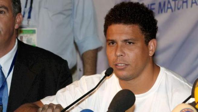 El futbolista brasileño Ronaldo Nazario, en una fotografía de archivo.