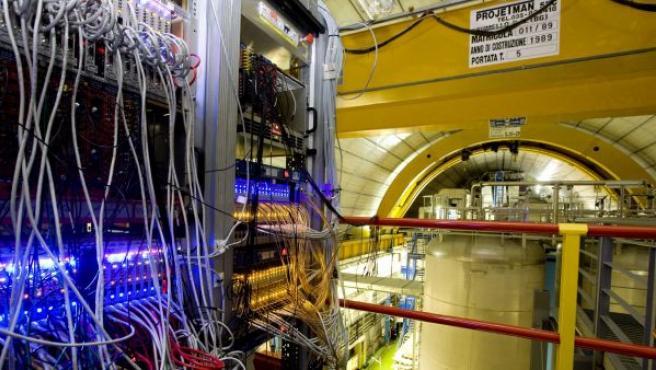 Una de los instrumentos científicos con los que se llevaron a cabo los experimentos de OPERA.