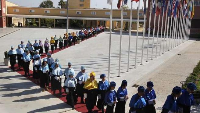 Acto De Apertura Del Nuevo Curso 2011-2012 En La UPO