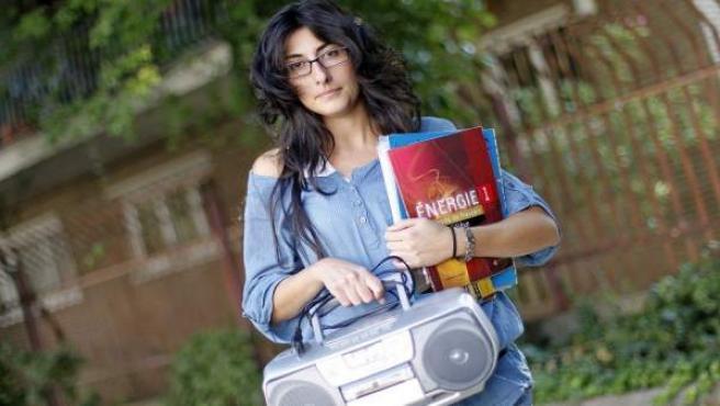 Nadia Saffouri, profesora de francés que no sabe hablarlo.