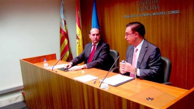 Enrique Verdeguer Y Juan Manuel García