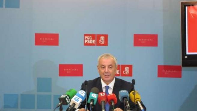 El Secretario Xeral Del Psdeg, Manuel 'Pachi' Vázquez