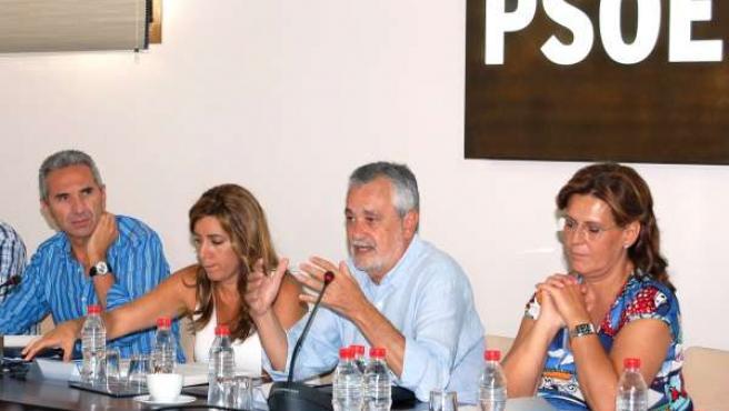 Reunión De La Ejecutiva Regional Del PSOE-A