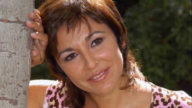 La presentadora Isabel Gemio.