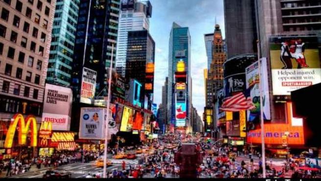 Times Square es un lugar clásico de Nueava York.