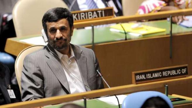 El líder iraní, Mahmud Ahmadineyad.
