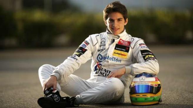 Roberto Merhi, piloto de la F3 Euroseries.