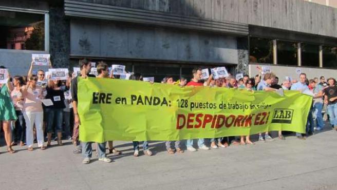 Concentración De La Plantilla De Panda Security