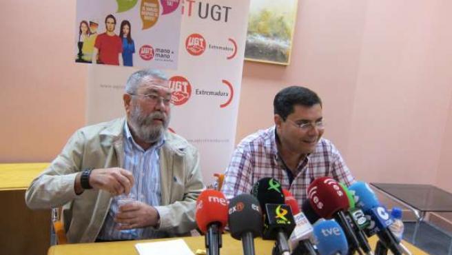 Cándido Méndez Y Francisco Capilla