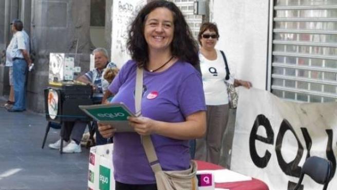 Candidata De Equo Al Congreso Por La Provincia De Las Palmas, Pilar Álvarez