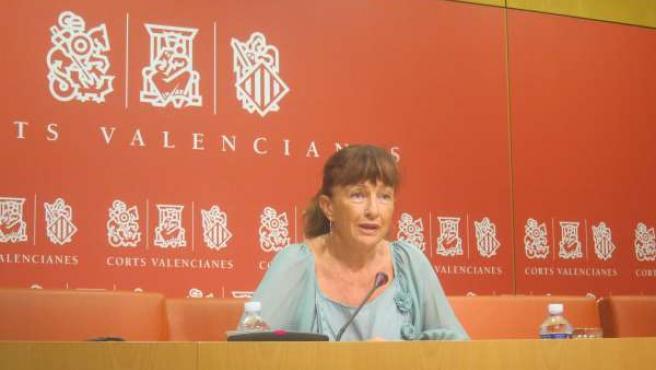 Cristina Moreno (PSPV) En Las Corts