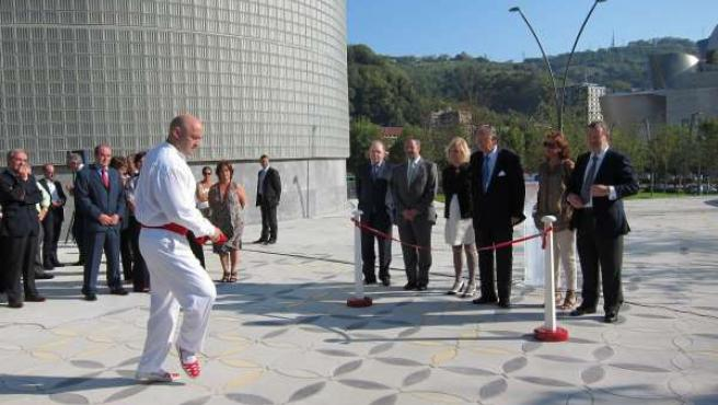 Azkuna Inaugura El Parque De La Campa De Los Ingleses