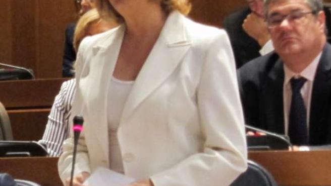 La Presidenta De Aragón Comparece En Las Cortes