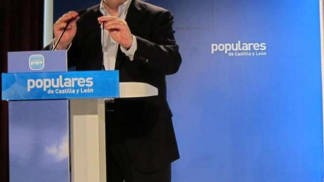 Juan Vicente Herrera Clausura La Junta Directiva Del PP De Cyl