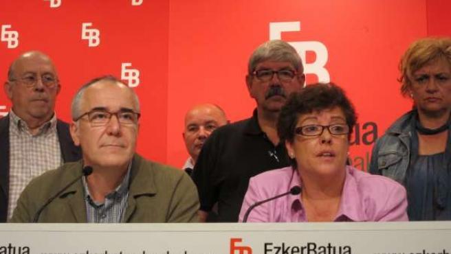 José Navas Y Kontxi Bilbao