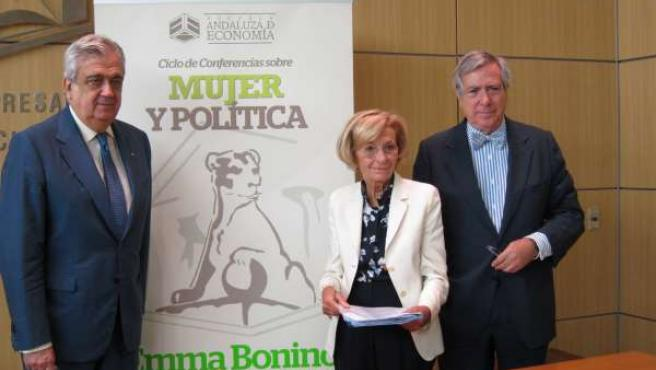 La Vicepresidenta Del Senado Italiano, Emma Bonino, Este Viernes En Sevilla