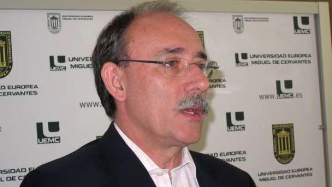 El Secretario Del PSOE De Valladolid, Mario Bedera