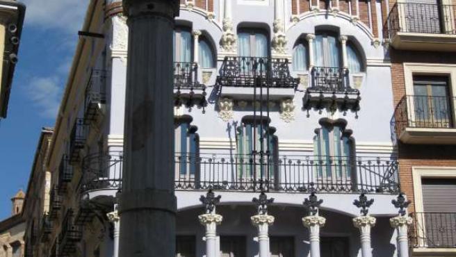 Edificio modernista de Teruel
