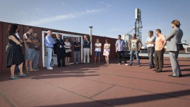 El Consejero De Industria Visita Sonkio Con Los Trabajadores De NPB