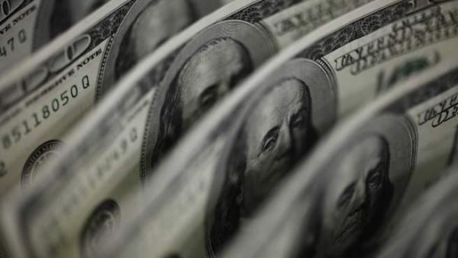 Billetes de dólares estadounidenses.