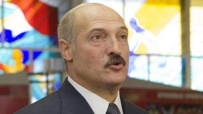 El presidente de Bielorrusia, Aleksandr Lukashenko, al que también se alude como el último dictador de Europa.