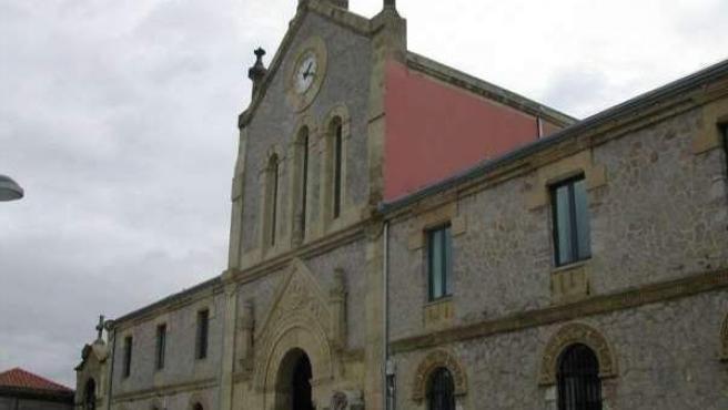 Imagen de archivo de una iglesia.