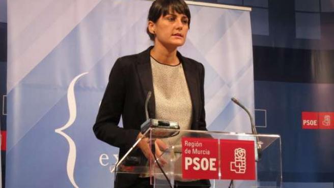 La Cabeza De Lista Por El PSRM Al Congreso, María González Veracruz