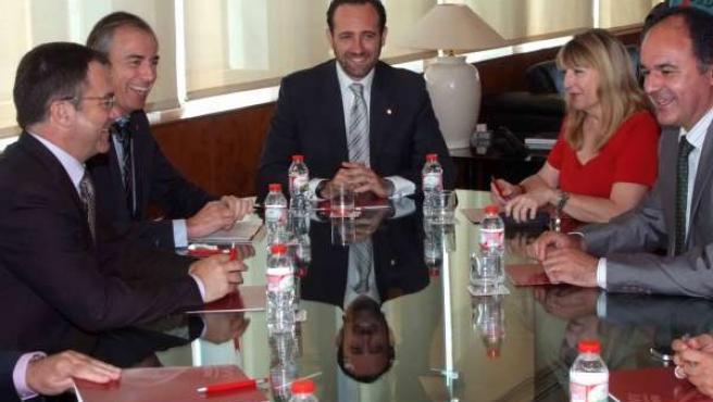 Bauzá Se Reúne Con Alcaldes En Ibiza