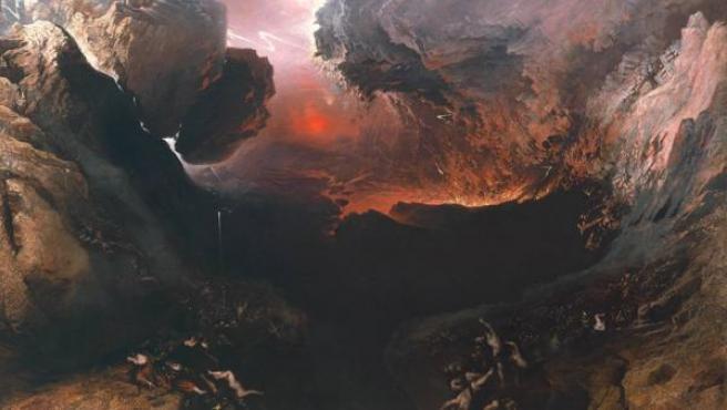 John Martin ilustra el fin del mundo