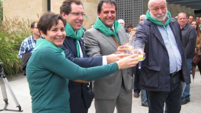 Un Momento De La Presentación De 'Gijón De Sidra'