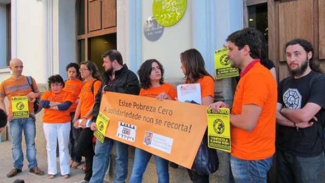La Coordinadora Gallega De ONGD Presenta Quejas Ante El Valedor Por Los Recortes