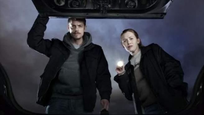 Escena de la serie 'The Killing'.