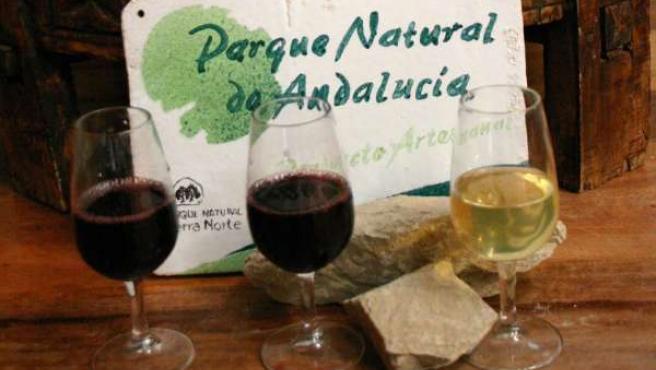 Muestras de productos certificados con marca de Parque Natural de Andalucía