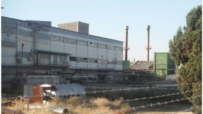 Fábrica De Moyresa En El Barrio Valenciano De Nazaret.