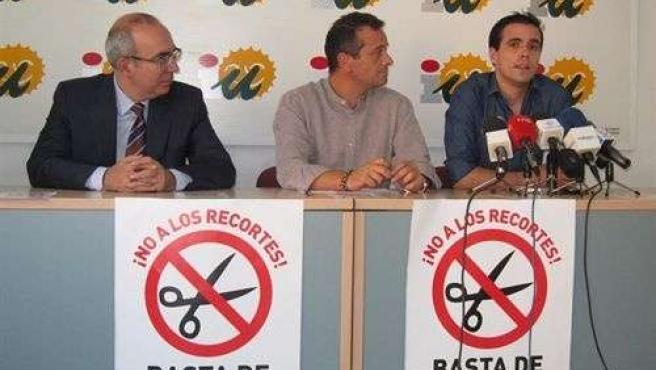 Pedro Moreno Brenes, José Antonio Castro Y Alberto Garzón