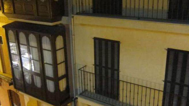 Un Bloque De Pisos Nuevos En Palma