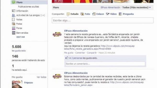 Facebook De Elpozo