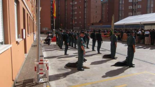 Día De La Guardia Civil En Pamplona.