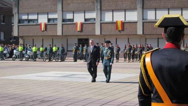 Delegado Del Gobierno Y Jefe De La Guardia Civil De Asturias