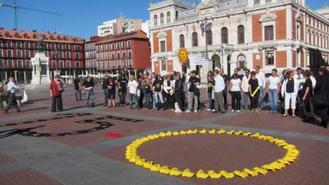 Manifestantes Del 15M Valladolid, Este Miércoles