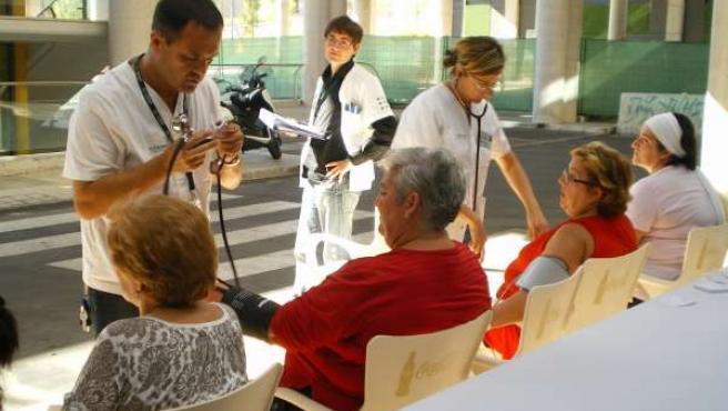Pacientes Que Participan En Un Test.