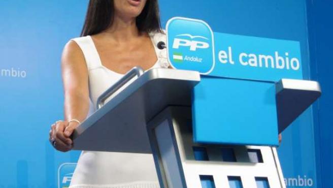 La Portavoz Del PP-A, Rosario Soto