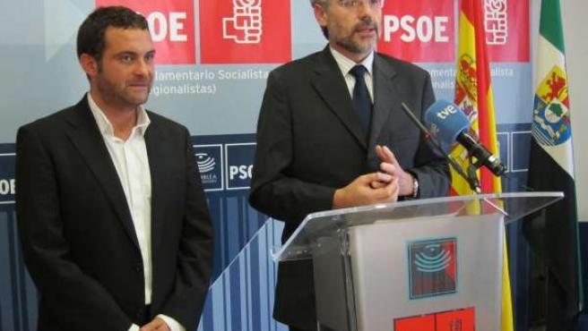 Jorge Amado Y Valentín García (PSOE)