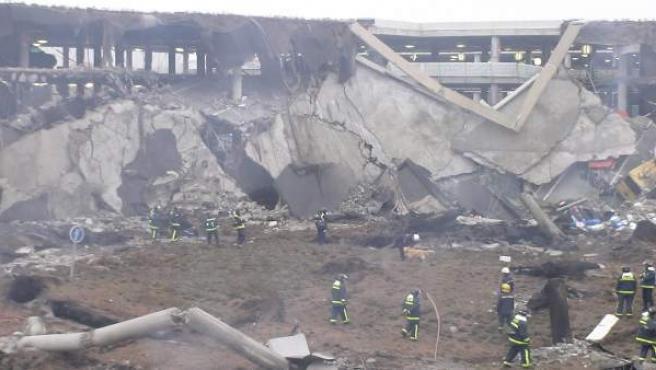 Atentado de la T-4 de Barajas que causó la muerte de dos ciudadanos ecuatorianos, Carlos Alonso Palate y Diego Armando Estacio.