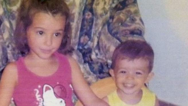 Los dos niños desaparecidos en Córdoba.