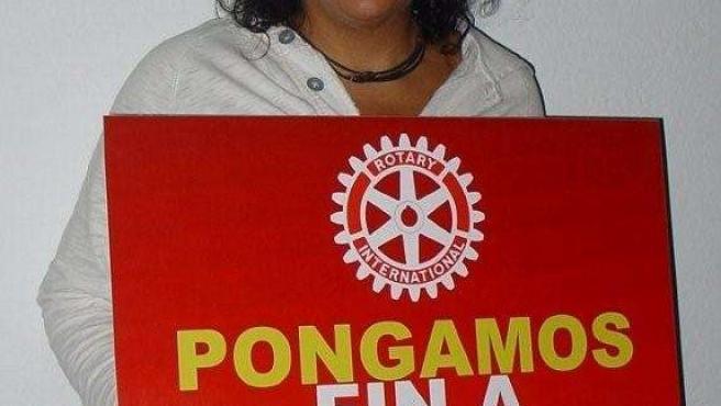 La Cantante Canaria Rosana Colabora En La Lucha Contra La Polio