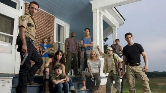 Los protagonistas de 'The Walking Dead'.