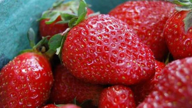 Una fruta muy sana y atractiva.