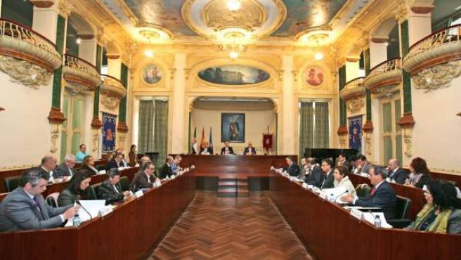 Pleno Diputacion Badajoz Aprobación Declaracion Tauromaquia Patrimonio Cultur