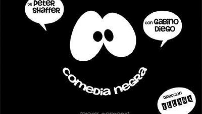 Cartel De La Obra 'Comedia Negra'